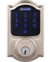 Shlage connect Camelot touchscreen deadbolt