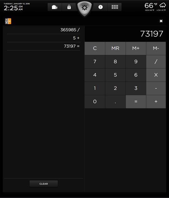 Calculator Full Screen