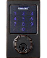 Shlage connect century touchscreen deadbolt